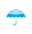 blue umbrella icon blue umbrella isolated vector image vector image
