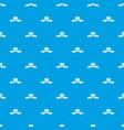 buckle wear pattern seamless blue vector image