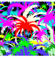 palm treesseamless background vector image vector image