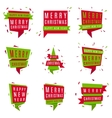 set christmas and new year banners vector image vector image