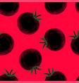 tomato juice vegetarian background vector image vector image