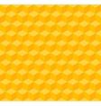 Yellow geometric seamless background vector image
