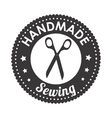 sewing scissors isolated icon design vector image