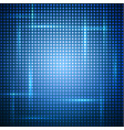 abstract blue shiny background vector image