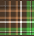 check pixel plaid fabric texture seamless pattern vector image vector image
