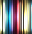 Colorful and shiny stripes background With place vector image vector image