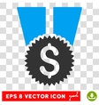 Financial Medal Eps Icon vector image