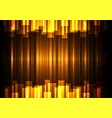 golden speed bar overlap in dark background vector image vector image
