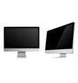 monitors icons vector image vector image