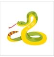 Snake reptile cartoon vector image vector image