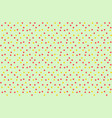 vintage polka dots in scatter background seamless vector image