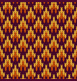 abstract pattern with seamless knitted texture vector image vector image