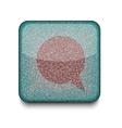 Bubble speech icon vector image