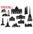 City of Italy vector image vector image