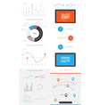 elements infographics and user interface vector image vector image