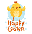 Happy Easter greetings vector image vector image