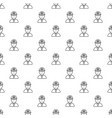 miner pattern seamless vector image
