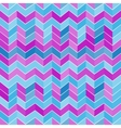 Seamless geometric light blue and purple pattern vector image vector image