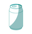 soft drink can icon vector image vector image