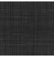 Seamless texture of black canvas vector image
