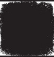 template of grunge black and white urban vector image