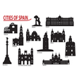 City of spain vector | Price: 1 Credit (USD $1)