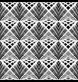 design seamless monochrome grid pattern vector image