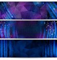 digital space background with stars and numbers vector image vector image