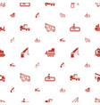 lift icons pattern seamless white background vector image vector image