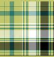 pixel check plaid textile texture seamless pattern vector image