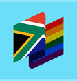 south africa lgbt flag african symbol