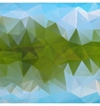 Triangular geometric shapes vector image vector image