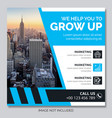 business instagram post banners vector image vector image