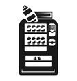 drink soda kiosk icon simple style vector image
