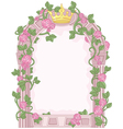Fairy Tale Frame vector image vector image