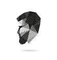 Fashion man silhouette vector image vector image