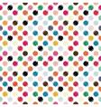 refracted polka dot vector image