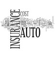 what level of auto insurance do you need text vector image vector image