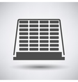 Construction pallet icon vector image