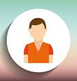 avatar icon design vector image vector image