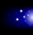 futuristic hexagon vector image