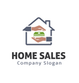 Home Sales Design vector image vector image