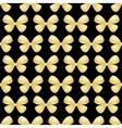 seamless bows ribbon vector image