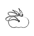 sound plug wire vector image