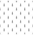 wheaty wheat pattern seamless vector image vector image