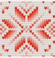 white and red holiday seamless pattern eps 10 vector image vector image