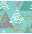 abstract geometric seamless repeat pattern vector image