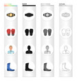 champion belt gloves for boxing referee in the vector image vector image