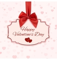 Happy Valentines day classic banner vector image vector image