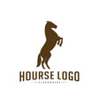 horse logo design icon symbol horse horse vector image